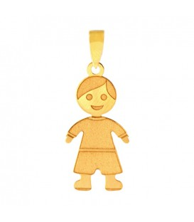 Collier Enfant or 18K mat