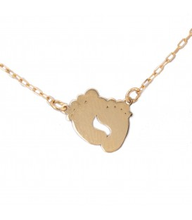 18K Gold Piece Necklace