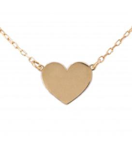 Gargantilla Corazón en Oro 18K