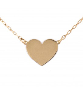 Heart Necklace in Gold 18K