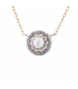 Collier ras du cou Natural Pearl