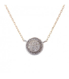 Illuminer Necklace in White Gold 18K