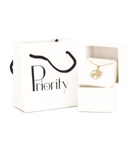 Necklace I Love Padel Gold 18K