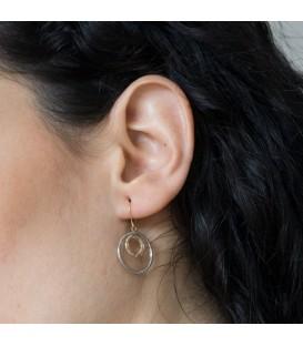 Gold Circule Earrings