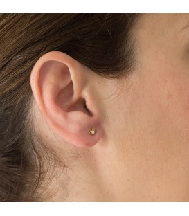 Baby Gold Flower Earrings