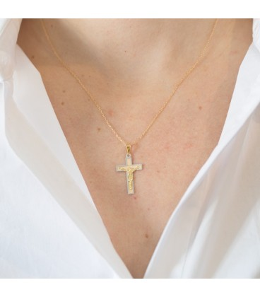 Cross with Christ gift