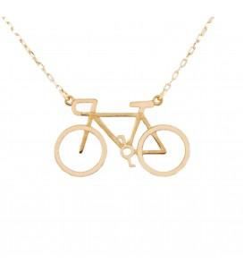 Gargantilla Bicicleta en Oro 18K