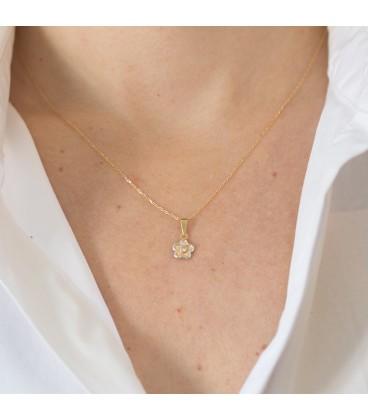 Gold baby pendant