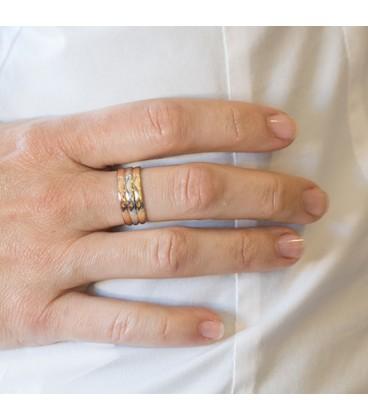 anillo tricolor