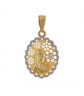 Virgin Communion Girl Medal