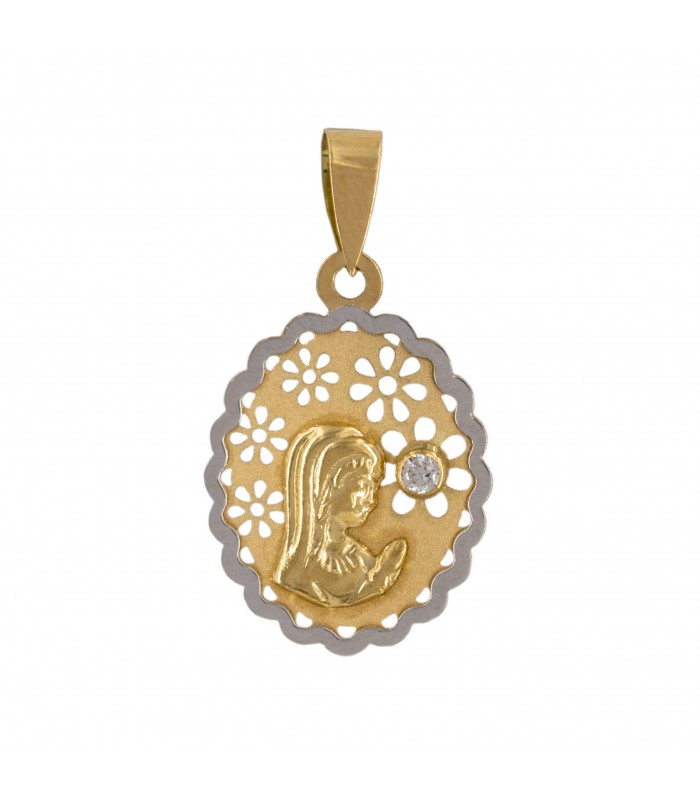 e14c3b16d87 Medalla comunión virgen niña