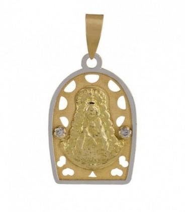 Virgen del rocio medalla