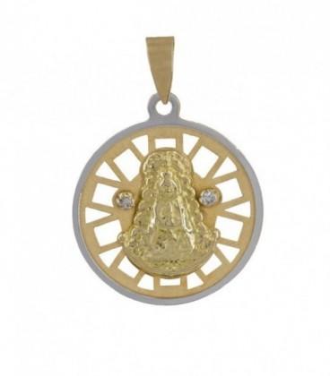 medalla redonda oro