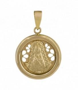 Virgin pendant circle