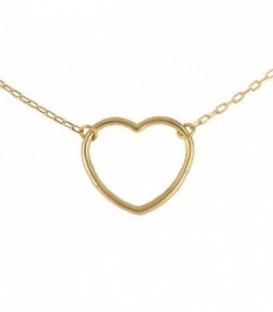 Gargantilla Corazón Oro 18K