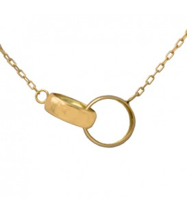 "Necklace ""You and me"" Gold 18k"