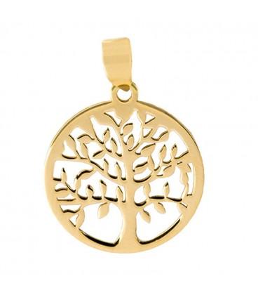 18K Labrado Gold Tree of Life Pendant