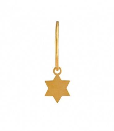 Star Hoops Choose Your Charm in Gold