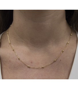 Necklace 18k Gold Ball