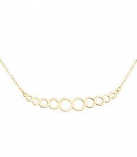 Necklace Circles Oro 18k
