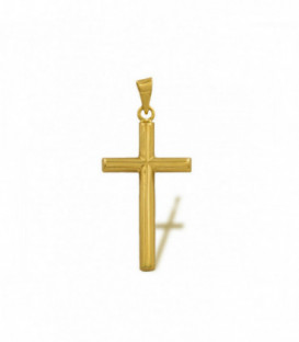18k golden cross
