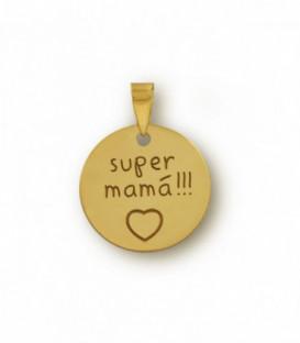 Pendentif super maman personnalisable