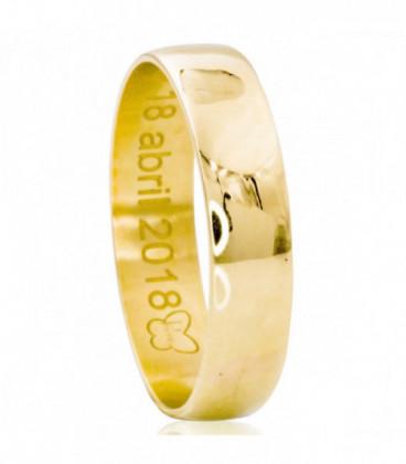 Classic 5mm wedding ring