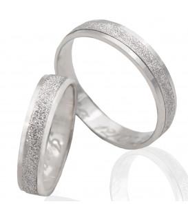 18k white gold wedding bands