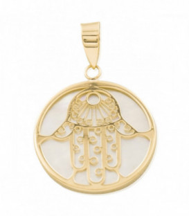Hand of Fatima pendant nacrer