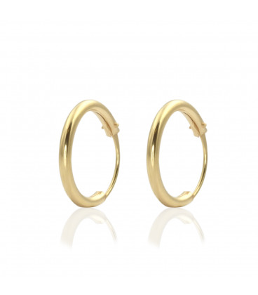 Tiny Hoop earrings 12mm