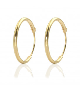 Hoop earrings 14mm