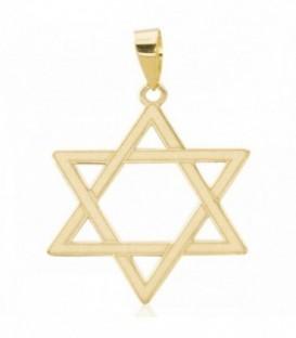 Pendentif étoile de David en or