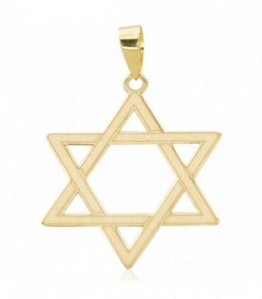 Estrella de David - colgante de oro