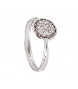 18K Illuminer White Gold Ring