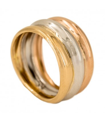 Yellow Gold, White Gold and Rose Gold
