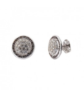 18K Illuminer White Gold Earrings