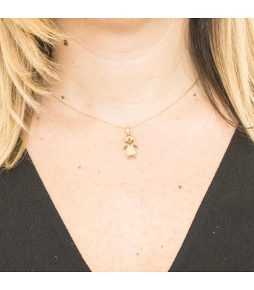 Big Girl 18K Gold Pendant