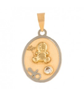 Baby gift medal