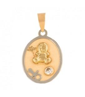 Medalla de Oro 18K Bebé