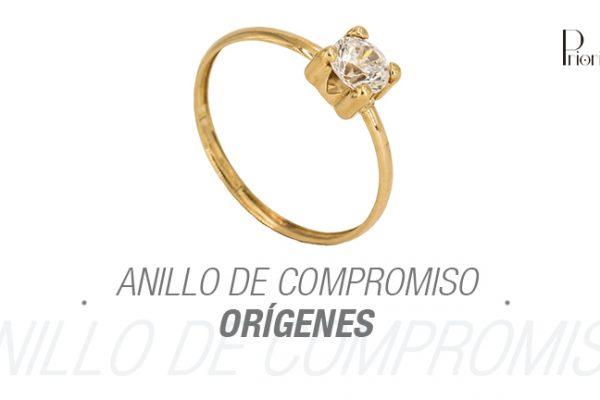 ¿Cuáles son los orígenes de regalar anillos de compromiso?