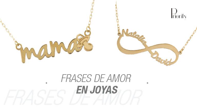 Frases de amor para joyas