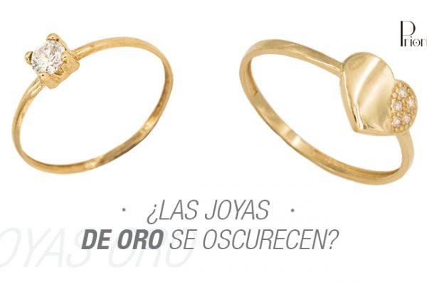 ¿Las joyas de oro se oscurecen?