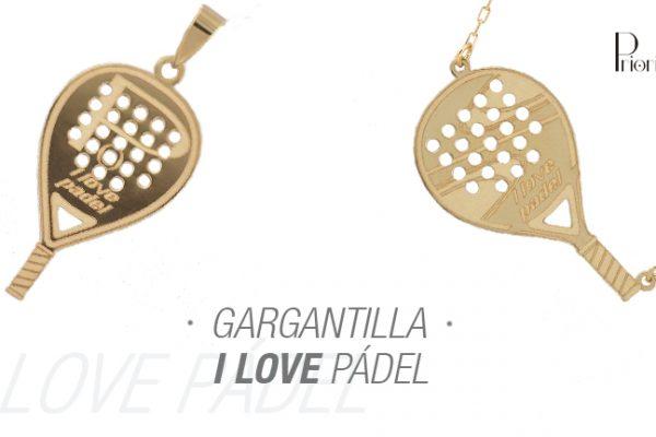 Gargantilla I love Pádel. Nuevas Tendencias