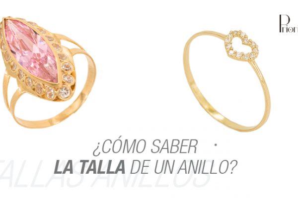 ¿Cómo saber la talla de un anillo?
