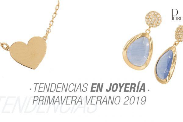 Tendencias en Joyería Primavera Verano 2019