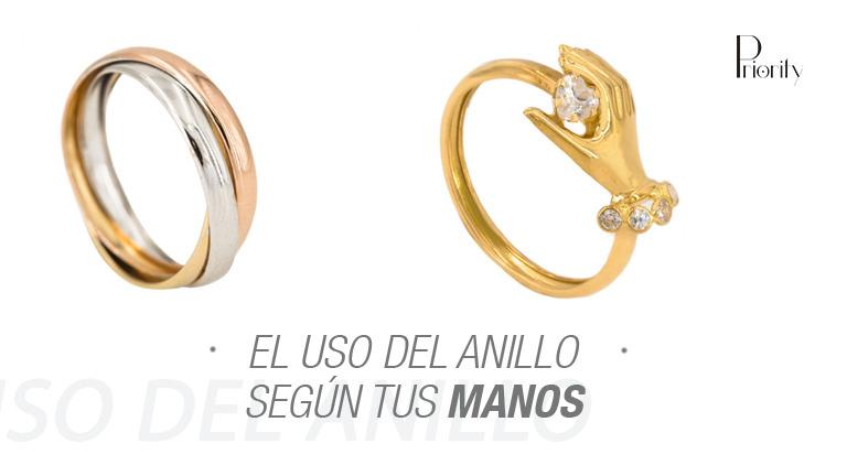 El uso del anillo según tus manos