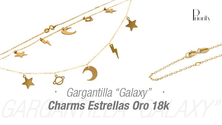 """Gargantilla Estrellas """"Galaxy"""""""