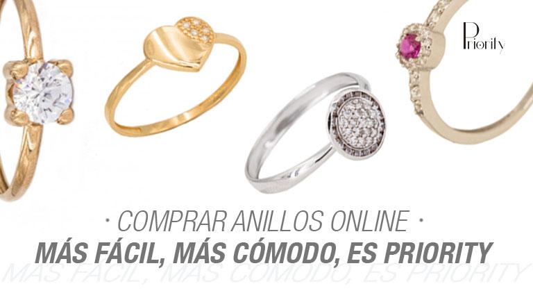 Comprar anillos online