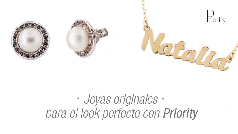 Joyas originales para el look perfecto con Priority