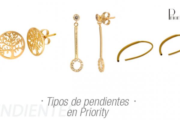 Tipos de pendientes de oreja en Priority